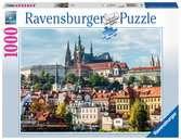 Pražský hrad 1000 dílků 2D Puzzle;Puzzle pro dospělé - Ravensburger