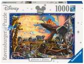 Puzzle 1000 p - Le Roi Lion (Collection Disney) Puzzle;Puzzles adultes - Ravensburger