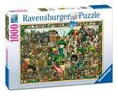 UKRYTY SKARB - 1000EL. Puzzle;Puzzle dla dorosłych - Ravensburger