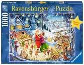 ŚWIĄTECZNY NASTRÓJ 1000EL. Puzzle;Puzzle dla dorosłych - Ravensburger