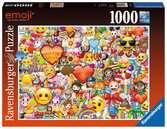 Emoji Puzzels;Puzzels voor volwassenen - Ravensburger