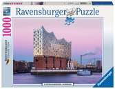 FILHARMONIA W HAMBURGU 1000EL Puzzle;Puzzle dla dorosłych - Ravensburger
