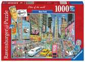 NEW YORK 1000EL Puzzle;Puzzle dla dorosłych - Ravensburger
