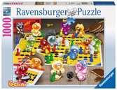 Spieleabend bei den Gelini Puzzle;Erwachsenenpuzzle - Ravensburger