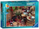 Perplexing Puzzle - Fine Wine and Cheese, 1000pc Puzzles;Adult Puzzles - Ravensburger