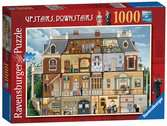 Upstairs Downstairs, 1000pc Puzzles;Adult Puzzles - Ravensburger