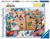 DISNEY PIXAR SCRAPBOOK - 1000EL. Puzzle;Puzzle dla dorosłych - Ravensburger