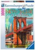 Retro New York, 1000pc Puzzles;Adult Puzzles - Ravensburger