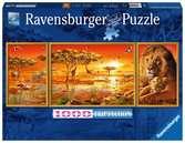 Africké veličenstvo 1000 dílků Panorama 2D Puzzle;Puzzle pro dospělé - Ravensburger