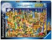 World Landmarks at Night Jigsaw Puzzles;Adult Puzzles - Ravensburger