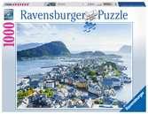 Blik over Ålesund Puzzels;Puzzels voor volwassenen - Ravensburger