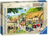 Leisure Days No.1 - Summer Village, 1000pc Puzzles;Adult Puzzles - Ravensburger