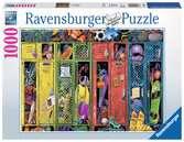 KOLOROWA SZATNIA 1000 EL Puzzle;Puzzle dla dorosłych - Ravensburger