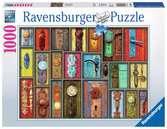HOWARD BROWER - ANTYCZNE KLAMKI 1000EL Puzzle;Puzzle dla dorosłych - Ravensburger