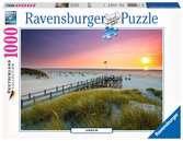 Sonnenuntergang über Amrum Puzzle;Erwachsenenpuzzle - Ravensburger