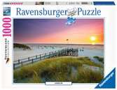 ZACHÓD SŁOŃCA 1000 EL Puzzle;Puzzle dla dorosłych - Ravensburger