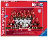 FC Bayern Saison 2018/19 Puzzle;Erwachsenenpuzzle - Ravensburger