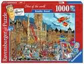 BRUKSELA 1000EL Puzzle;Puzzle dla dorosłych - Ravensburger