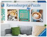 Délice de 3 cafés Puzzle;Puzzle adulte - Ravensburger