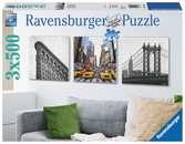 NOWY JORK 3X500 EL TRYPTYK Puzzle;Puzzle dla dorosłych - Ravensburger