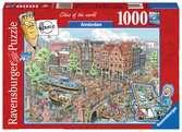 AMSTERDAM 1000EL Puzzle;Puzzle dla dorosłych - Ravensburger