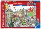 LONDYN 1000EL Puzzle;Puzzle dla dorosłych - Ravensburger