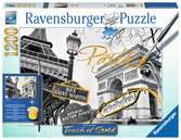 Paris doré Puzzle;Puzzle adulte - Ravensburger