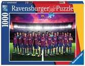 FC Barcelona           1000p Puslespil;Puslespil for voksne - Ravensburger