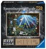 Exit Puzzle: Ponorka 759 dílků 2D Puzzle;Puzzle pro dospělé - Ravensburger