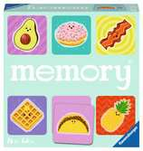 Foodie Favorites memory®  EN/F Spill;Barnespill - Ravensburger
