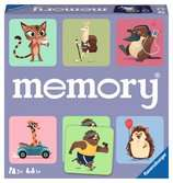 Wild World of Animals memory® Spil;Børnespil - Ravensburger