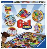 Toy Story 4, 6 in 1 Games Box Games;Children s Games - Ravensburger