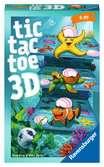 Tic Tac Toe 3D Spiele;Mitbringspiele - Ravensburger