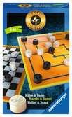 Classic Compact: Mühle und Dame Spiele;Mitbringspiele - Ravensburger
