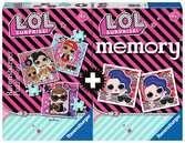 Multipack memory®+ 3 puzzle LOL Giochi;Giochi educativi - Ravensburger