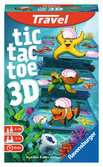 Tic Tac Toe 3D travel game Juegos;Travel games - Ravensburger