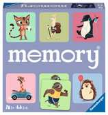 Ravensburger Happy Animals Large Memory Game Games;memory® - Ravensburger