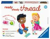 Ravensburger Ready, Steady, Thread Educational Game for Kids age 3 years and up Games;Educational Games - Ravensburger