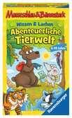 Mauseschlau & Bärenstark Wissen und Lachen - Abenteuerliche Tierwelt Spiele;Mitbringspiele - Ravensburger