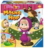 Masha and the Bear Masha Hop Spiele;Kinderspiele - Ravensburger