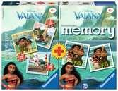 Multipack 3 Puzzle + memory Vaiana Juegos;Juegos infantiles - Ravensburger