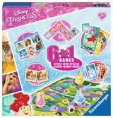 Disney Princess 6-in-1 Games Games;Children s Games - Ravensburger