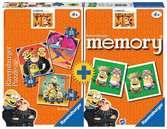 Despicable Me 3 3 Puzzles + memory® Giochi;Giochi educativi - Ravensburger