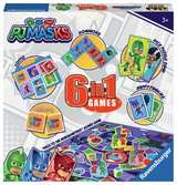 Ravensburger PJ Masks - 6 in 1 Game Set for Kids age 3 years and up Games;Children s Games - Ravensburger