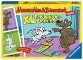 Mauseschlau & Bärenstark  XL Bewegungs-Domino Spiele;Kinderspiele - Ravensburger