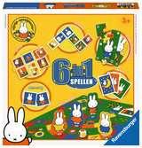 Nijntje 6-in-1 spellen Spellen;Vrolijke kinderspellen - Ravensburger