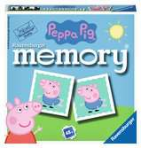 Ravensburger Peppa Pig Mini Memory® Game Games;memory® - Ravensburger