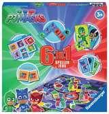 Pyjamasques 6-in-1 jeux Jeux;Jeux de société enfants - Ravensburger