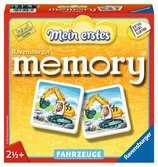 Mein erstes memory® Fahrzeuge Spiele;Kinderspiele - Ravensburger