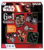 Star Wars The Force Awakens: 6 in 1 Games Games;Children s Games - Ravensburger